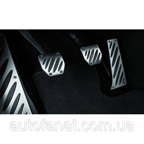 Оригинальные накладки на педали BMW X3 (F25) M Performance с (МКПП) (35002213213)