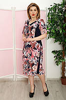 Платье Баффи к/р мрамор, фото 1
