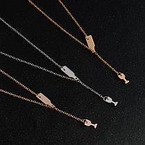 Модные Кулон Ожерелье Элегантные Цепные пивные бокалы Neclacke Холодные серебряные украшения для Женское - 1TopShop, фото 2