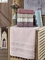 Махровое полотенце лицевое ТМ Philippus. 50×90. Турция.