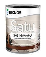Віск для сауни Teknos Satu Saunavaha 0.9 л