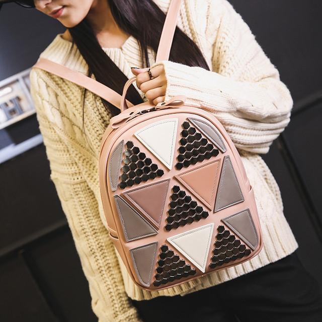 Рюкзак с треугольниками