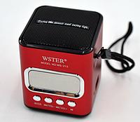 Bluetooth колонка WSTER WS-215, фото 1