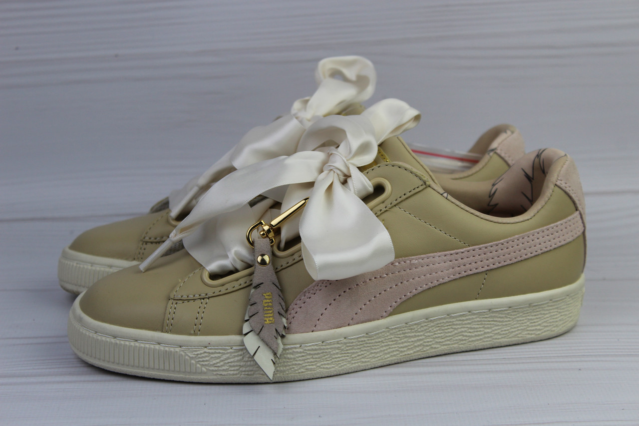 Кроссовки Puma Basket Heart Coach, 37р.