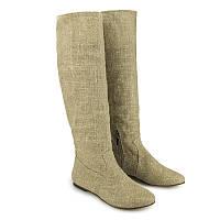 Необычные модные сапоги недорого - женские 9001natural