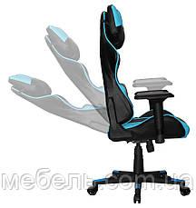 Компьюторное кресло Barsky SD-19 Sportdrive Premium Step Blue, геймерское кресло, фото 2