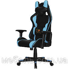 Компьюторное кресло Barsky SD-19 Sportdrive Premium Step Blue, геймерское кресло, фото 3