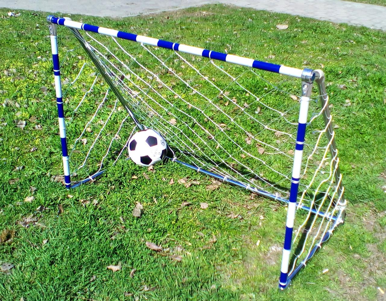 Детские футбольные ворота, усиленные 1200Х850мм
