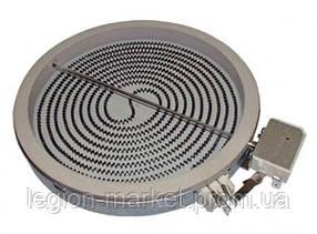 Конфорка 1700W 481231018889 оригинал для стеклокерамической поверхности Whirlpool