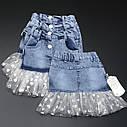 Модная юбка для девочки 3-4-5-6 лет, фото 2