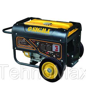 Электрогенератор бензиновый 5.0/5.5кВт 4-х тактный электрозапуск Pro-S sigma 5710621