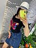 Стильная юбка из денима.  Размер: М-88/90 Л-90/92 ХЛ-92/94.  Цвет: синий (0481), фото 3