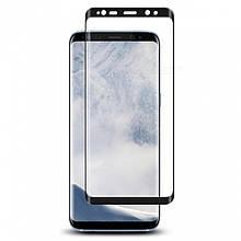 Защитное стекло 3D Full Glue для Samsung S9 (Черное)