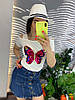 Стильная юбка из денима.  Размер: М-88/90 Л-90/92 ХЛ-92/94.  Цвет: синий (0481), фото 5