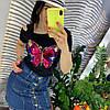 Стильная юбка из денима.  Размер: М-88/90 Л-90/92 ХЛ-92/94.  Цвет: синий (0481), фото 7