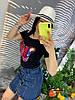 Стильная юбка из денима.  Размер: М-88/90 Л-90/92 ХЛ-92/94.  Цвет: синий (0481), фото 8