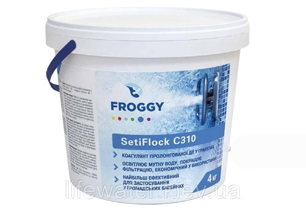 Коагулянт в гранулах SetiFlock C310 FROGGY 4 кг