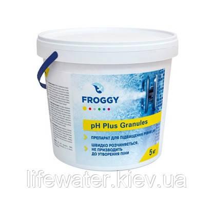 Засіб для підвищення рівня PH води в басейні PH-Plus Granules FROGGY 5кг