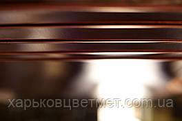 Лист мідний м'який, товщина 0,8 мм (розмір 600мм х 1500мм)