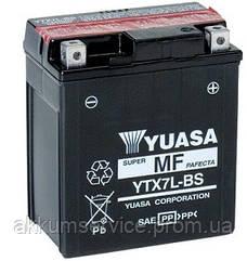 Акумулятор мото Yuasa MF VRLA 6 AH/ 100А YTX7L-BS(CP)