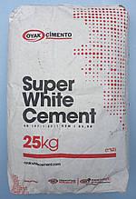 Білий цемент ADANA (пр-під Туреччина) 25 кг, 62 мішка в палеті