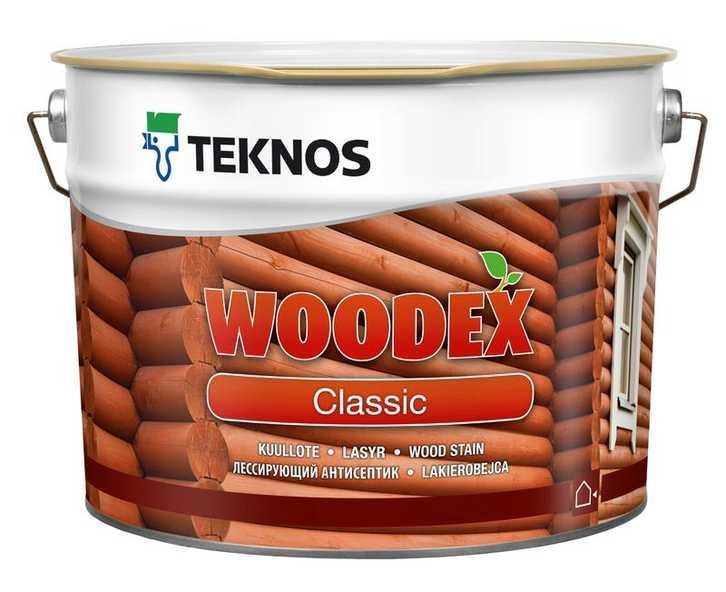 Антисептик для дерева Teknos Woodex Classic 9л