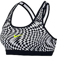 Nike Pro Classic Warped Check Sports Bra - Женская Бра