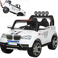 Детский двухместный Электромобиль BMW.Автомобиль детский электрический на дистанционном управлении.