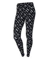 Nike Womens Club Allover Print Leggings - Женские Лосины(Леггинсы)