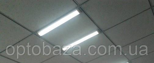 """Светодиодный LED светильник линейный накладной """"Lira"""" 20Вт 4000К 1820Lm, фото 2"""