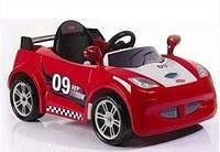 Электромобиль /машина/ LW801Q-G215 красный спортивный