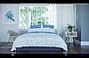 Комплект постельного белья  ранфорс BalakHome евро размер Bird
