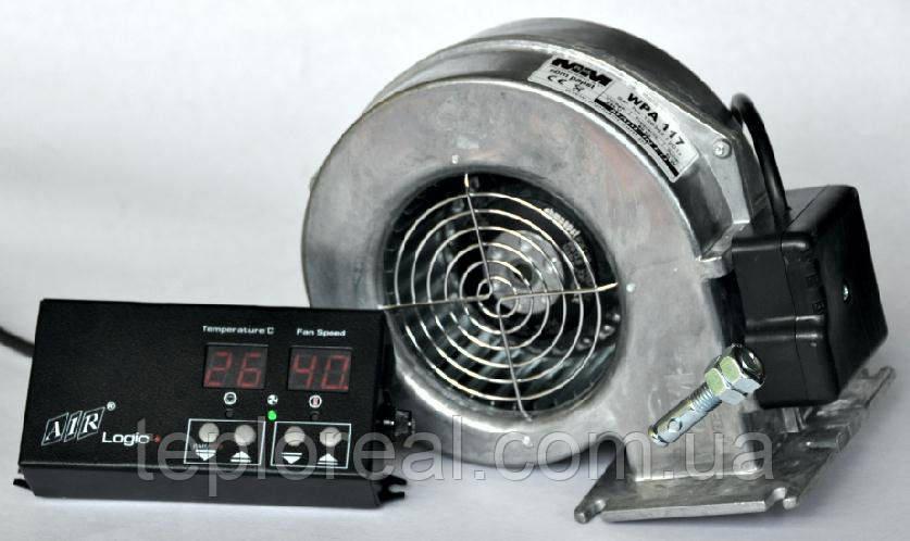 Комплект автоматики для твердотопливного котла AIR Logic (металл) + WPA-117/120