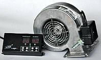 Комплект автоматики для твердотопливного котла AIR Logic (металл) + ELMOTECH VFS-120 295м3/ч, фото 1
