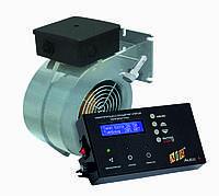 Комплект автоматики для твердотопливного котла AIR AUTO + ELMOTECH VFS-120 295м3/ч, фото 1