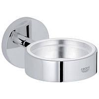 Grohe Essentials 40369001 (старый арт. 40369000) держатель для стакана, мыльницы