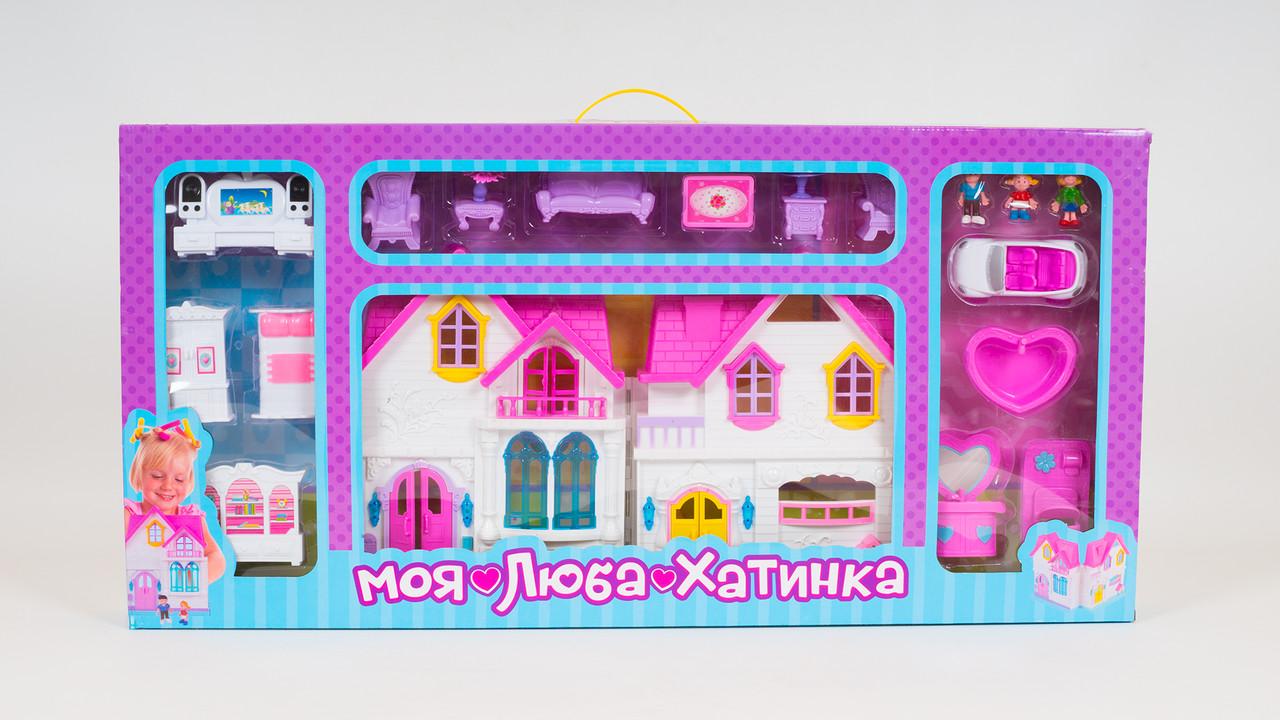 Кукольный домик со световыми и звуковыми эффектами. 3 вида