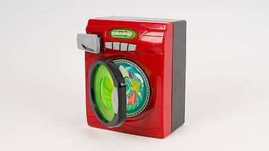 Детская стиральная машина XS14611. Со звуками и светом. Открывается дверь. Вращается барабан.