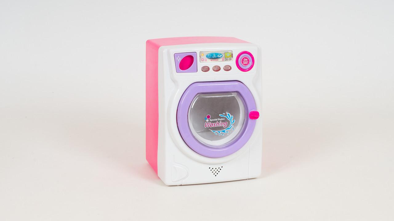 Стиральная машинка со световыми и звуковыми эффектами. И подвижными деталями