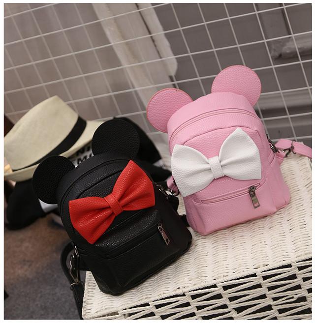 Детский рюкзак Микки с бантиком