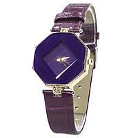 ➤Часы Rowng Геометрия Purple женские часы с кварцевым механизмом наручные модный аксессуар для девушек