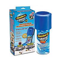 ϞВантуз Plumber's Hero для очистки засоров бактерий раковины унитаза канализационных труб, фото 2