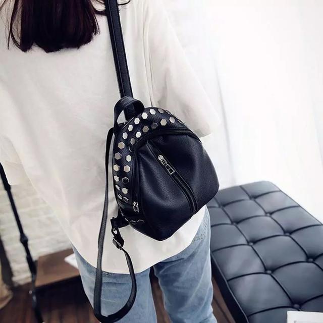 Женский мини рюкзаки Ривьет фото