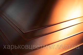 Лист медный мягкий, толщина 2,0 мм (размер 600мм х 1500мм), фото 2