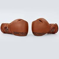 Перчатки боксерские кожаные на шнуровке BAD BOY LEGACY 2.0 VL-6619-BR