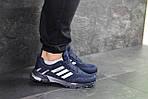 Мужские кроссовки Adidas Marathon (темно-синие с белым), фото 4
