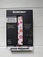 Портативное зарядное устройство повербанк SilveCrest Design-Powerbank 3000mAh (Германия)