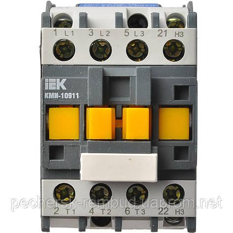 Контактор КМИ 10911 9А 380В/АС3 1р (НЗ) IEK, фото 2