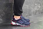 Мужские кроссовки Adidas Marathon (темно-синие с красным), фото 4