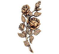 Два тюльпана бронзові J1984/18